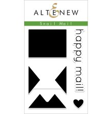 Altenew Clear Stamps 2X3 - Snail Mail