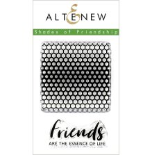 Altenew Clear Stamps 2X3 - Shades of Friendship