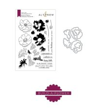 Altenew Clear Stamp And Die Build A flower - Anemone Coronaria