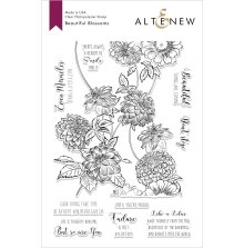 Altenew Clear Stamps 6X8 - Beautiful Blossoms