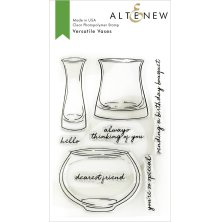 Altenew Clear Stamps 4X6 - Versatile Vases