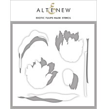 Altenew Stencil 6X6 - Exotic Tulips