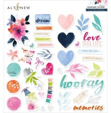 Altenew Chipboard Stickers - Live Your Dream