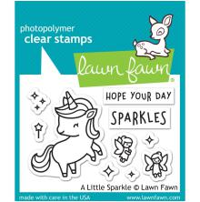 Lawn Fawn Clear Stamps 3X2 - A Little Sparkle