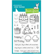 Lawn Fawn Clear Stamps 4X6 - Birthday Before n Afters