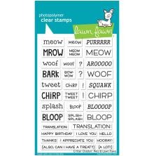 Lawn Fawn Clear Stamps 4X6 - Critter Chatter: Pets