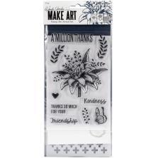 Wendy Vecchi Make Art Stamp Die & Stencil Set - A Million Thanks