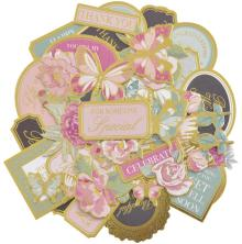 Kaisercraft Collectables Cardstock Die-Cuts - With Love Coloured