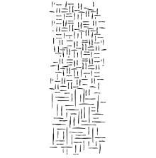 Kaisercraft Texture Clear Stamps - Woven Line