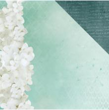 Kaisercraft Morning Dew Double-Sided Cardstock 12X12 - Exhale