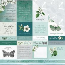 Kaisercraft Morning Dew Double-Sided Cardstock 12X12 - Refresh