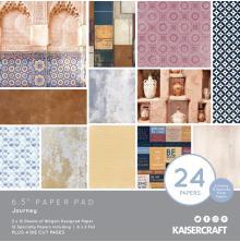 Kaisercraft Paper Pad 6.5X6.5 40/Pkg - Journey