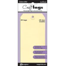 Inkssentials Manila Surfaces 20/Pkg Tag # 8 6.25´X3.125´